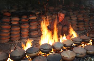 Bếp niêu rực lửa Làng Vũ Đại dịp Tết - Niềm tự hào của người dân Hà Nam