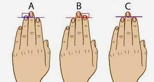 Xòe bàn tay xem sự phú quý của bạn
