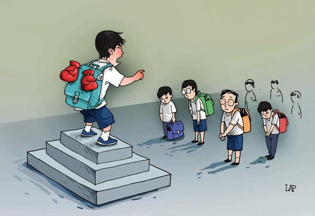 Dạy trẻ kỹ năng phản kháng khi bị thường xuyên bị bắt nạt