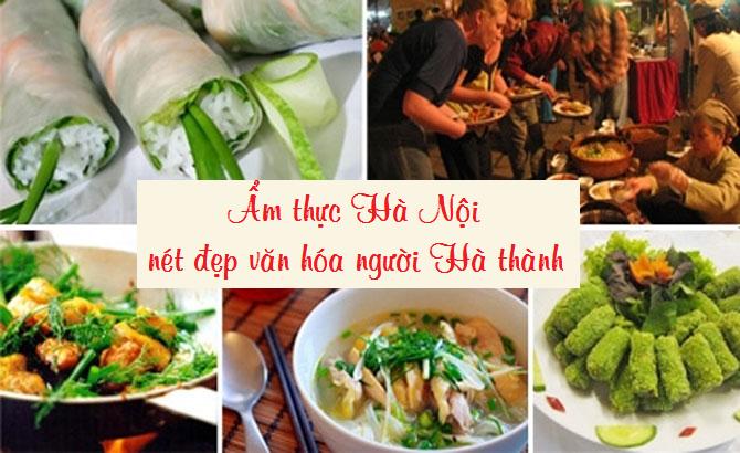 """""""Chảy nước miếng"""" với các món ngon làm nên nét riêng ẩm thực người Hà Nội"""