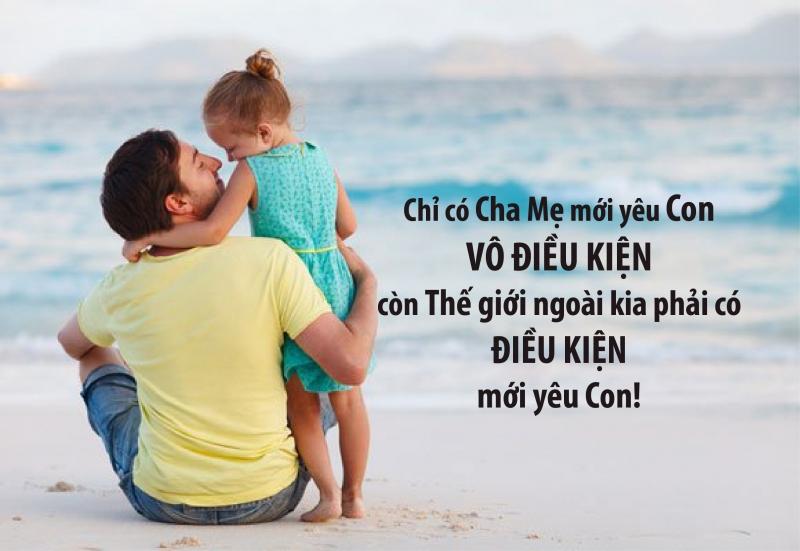 Con gái à, dù cuộc sống có ra sao con vẫn luôn có Cha