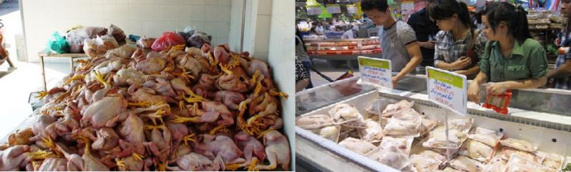 Hơn 70% thịt gà trong siêu thị không đạt vệ sinh an toàn thực phẩm, khiến người tiêu dùng hoang mang!