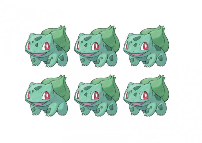 Trong 15s bạn tìm ra điểm khác nhau của 6 bức ảnh này thì quả thực bạn không phải dạng vừa đâu