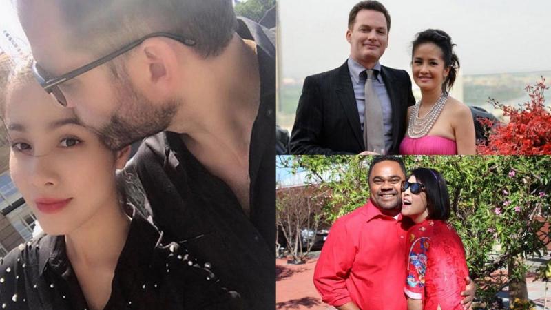 Những sao Việt đổ vỡ hôn nhân lần đầu, may mắn tìm được hạnh phúc với chồng Tây, Việt Kiều