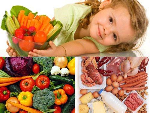 Chế độ dinh dưỡng cho trẻ bị viêm mao mạch dị ứng