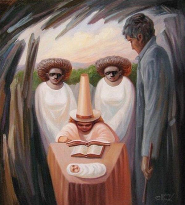 Điều đầu tiên bạn thấy trong bức tranh này sẽ hé lộ chỉ số yếu đuối trong con người bạn!