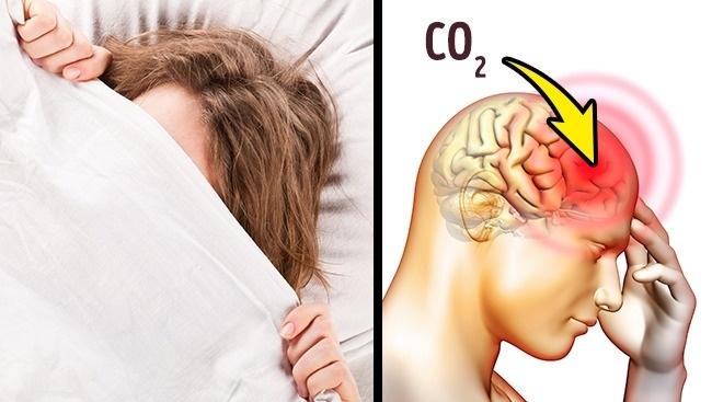 """Từ bỏ ngay thói quen trùm chăn kín đầu khi ngủ nếu không muốn """"tự chuốc họa vào thân"""""""